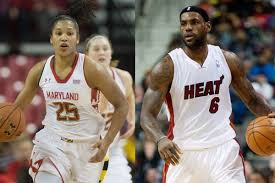 alyssa thomas the female lebron james swish appeal maryland forward alyssa thomas is often called the female lebron james given her versatility on the court like the four time nba mvp who plays for the