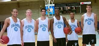 The 1999 men's basketball recruiting class includes, from left: Egan Hill, Treg Duerksen, Jaime Irvine, Prince Ogbogu, Brad Johnson, Chris Wiedemann. - basketballRecruits