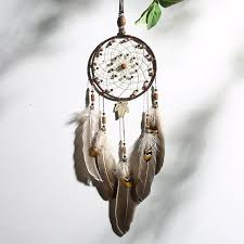 White <b>Feather Indian Dream Catcher</b> | All Things connect | <b>Dream</b> ...