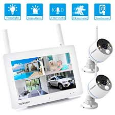 Floodlight Camera Security System Wireless Outdoor ... - Amazon.com