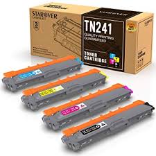 STAROVER 4X Compatible Toner Cartridges for Brother <b>TN241 TN</b> ...