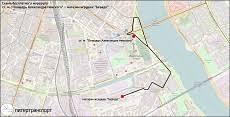 Бесплатный маршрут «станция метро Площадь Александра ...