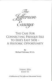 research studies book publishing jefferson educational society the case for connecting presque isle to erie s east side a historic opportunity