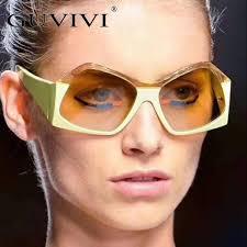 Guvivi Brand <b>Polygonal Sunglasses</b> Women <b>Glasses Luxury</b> ...