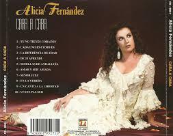Carátula Trasera de Alicia Fernandez - Cara A Cara - Portada - Alicia_Fernandez-Cara_A_Cara-Trasera