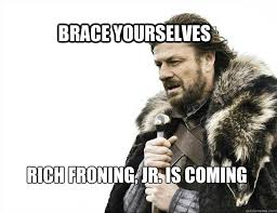 BRACE YOURSELves Rich Froning, Jr. is coming - BRACE YOURSELF SOLO ... via Relatably.com