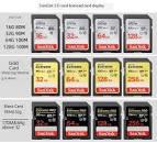 SanDisk SD Card 256g Camera High Speed U3 Memory Card 16g ...