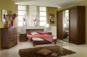 oak bedroom furniture home design gallery:  minimalist bedroom furniture minimalist bedroom design featuring brown oak bed frame regarding minimalist bedroom brown