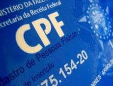 Image result for Contribuinte poderá atualizar CPF pela internet a partir da próxima semana