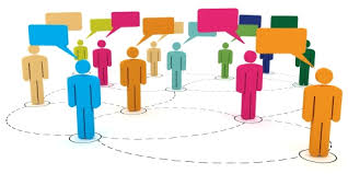 people linked together in a Personal learning network