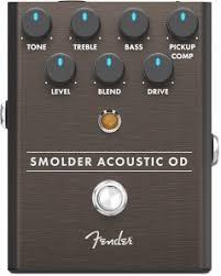 <b>FENDER</b> SMOLDER <b>ACOUSTIC</b> OVERDRIVE Гитарная <b>педаль</b> ...