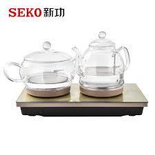 SEKO W7 <b>Automatic</b> kettle Electric <b>high borosilicate glass</b> Kettle Tea ...