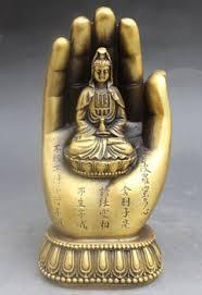 Купить TNUKK Chinese Buddhism copper Kwan-yin Bodhisattva ...