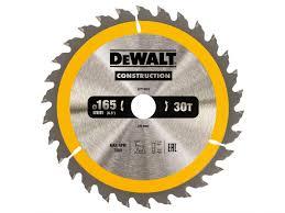 <b>Пильный диск</b> DeWalt Construction <b>165х20мм</b> 30ATB DT1935-QZ ...
