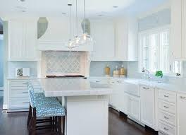 blue mosaic kitchen cooktop tiles