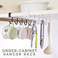 Under-Cabinet <b>Hanger Rack</b> (<b>6 Hooks</b>) – esfranki.co