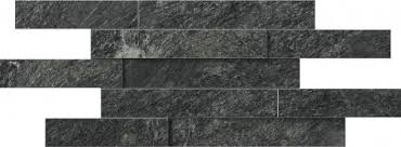 <b>Керамический декор Italon Skyfall</b> Nero Брик 3D 20х80 28-x-78 ...
