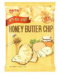 New Haitai Honey Butter <b>Chip</b> 60g Korean Popular <b>Potato</b> Snack ...
