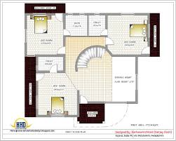 Home Design And Plans   Home And Design Gallery    Home Design And Plans India House Plans First Floor Plan Sq Ft On Home Design
