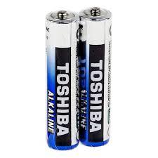 <b>Батарейка AAA Toshiba</b> LR03/2SH Alkaline, 2 шт, в термопленке ...