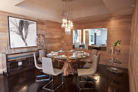 Mirror Dining Room Tables Interior Interior Design Beautiful Dining Room Equipped With A