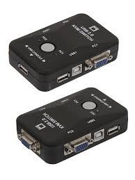 <b>Переключатель KVM</b> ATEN PS2 <b>USB VGA</b> - Кабель переходник