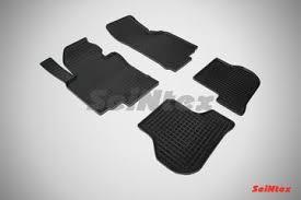Купить резиновые коврики в <b>салон</b> Volkswagen Golf VI (2008 ...
