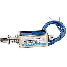<b>JF</b>-<b>0530B</b> Pull Push Type Open Frame Solenoid Electromagnet, <b>DC</b> ...