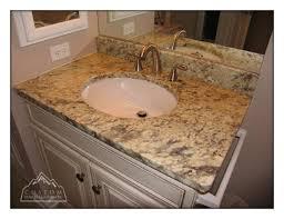 white bathroom vanity granite countertops pictures