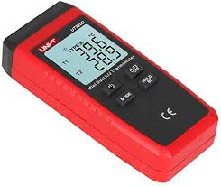 <b>UNI</b>-<b>T</b> UT320D <b>Mini Contact Type</b> Thermometer Dual-channel K/J ...