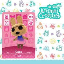 150 Коко Amiibo набор карт для скрещивания животных, <b>фигурки</b> ...