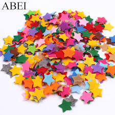 <b>50pcs</b>/lot 2.2cm Glitter <b>Patches</b> Cute Star <b>Patch</b> DIY Apparel Sewing ...