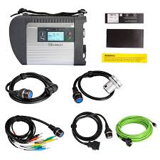 best mb star c4 multiplexer with full set sd c4 cables diagnosis mb star connect software 2019 07v laptop d630 4g