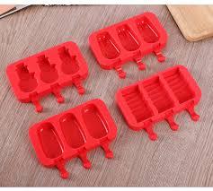 Hete-supply <b>DIY</b> Popsicle <b>Ice</b> Cream Moulds <b>Silicone</b> Mold Car ...