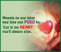 Tagalog Cheesy Love Quotes and Pinoy New Cheesy Quotes - Boy Banat via Relatably.com