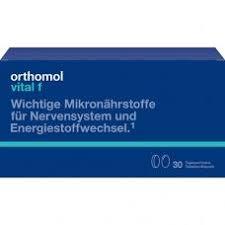<b>Orthomol Vital</b> f для женщин при хронической усталости. Купить ...