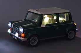 Review: <b>Lightailing LED light</b> kit for Mini Cooper | Brickset: LEGO set ...