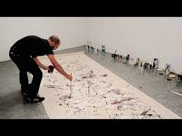 The Painting Techniques of <b>Jackson Pollock</b> (video)   Khan Academy