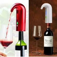 NUTRICHEF <b>Electric Wine</b> Pump Aerator <b>Automatic</b> Wine <b>Bottle</b> ...