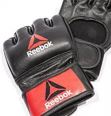 <b>Перчатки для MMA Reebok</b> Combat Leather Glove - Small RSCB ...