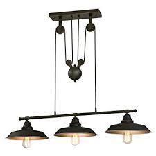 Westinghouse <b>Lighting</b> 6332500 Industrial Iron Hill Three-<b>Light</b> ...