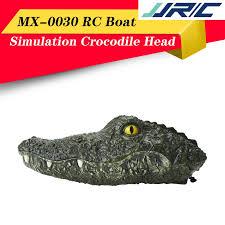 <b>Jjrc Mx</b>-<b>0030</b> Mainan Rc Perahu Elektrik <b>2.4g</b> Bentuk Kepala Buaya ...