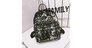 Girls Fashion <b>Sequins</b> Backpack <b>Glitter Bling</b> Rucksack School ...