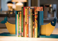 <b>Подставка для книг</b> в виде рыбы - OBI