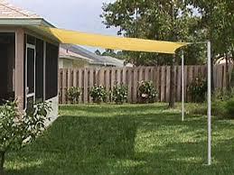 outdoor patio sun shade sail