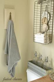 country bathroom colors: french country cottage repurposed bathroom shelflove the color of blue