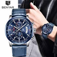 2020 BENYAR <b>Watches Men</b> Luxury Brand Quartz Chronograph ...