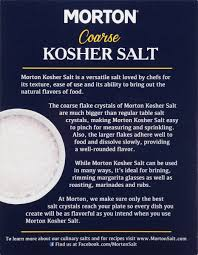 morton coarse kosher salt oz com
