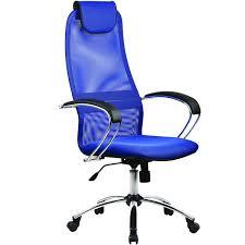 Купить <b>Кресло</b> компьютерное <b>Метта BK</b>-<b>8CH</b> Blue (531512) в ...