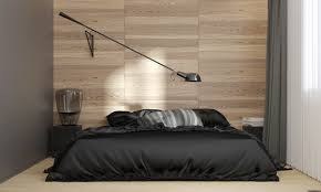 a cool cantilevered reading lamp by paolo rizzatto provides task lighting above the bed the above bed lighting